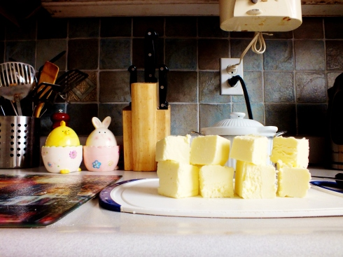 The art of cubed butter